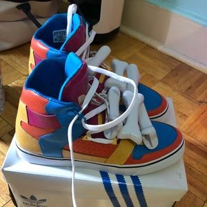 Jeremy Scott x zapatillas Adidas Jeremy Scott JS Bones multi - color